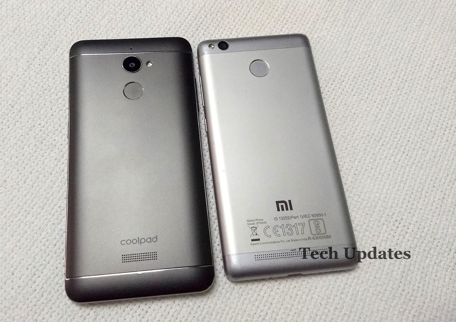 Coolpad Note 5 Lite Vs Xiaomi Redmi 3s Prime Tech Updates 16gb Gold