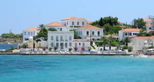 Ilha Spetses - Ilhas Sarónicas, Mar Egeu, Grécia
