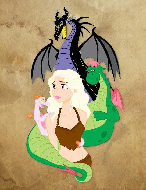 Disney Princess Game of Thrones