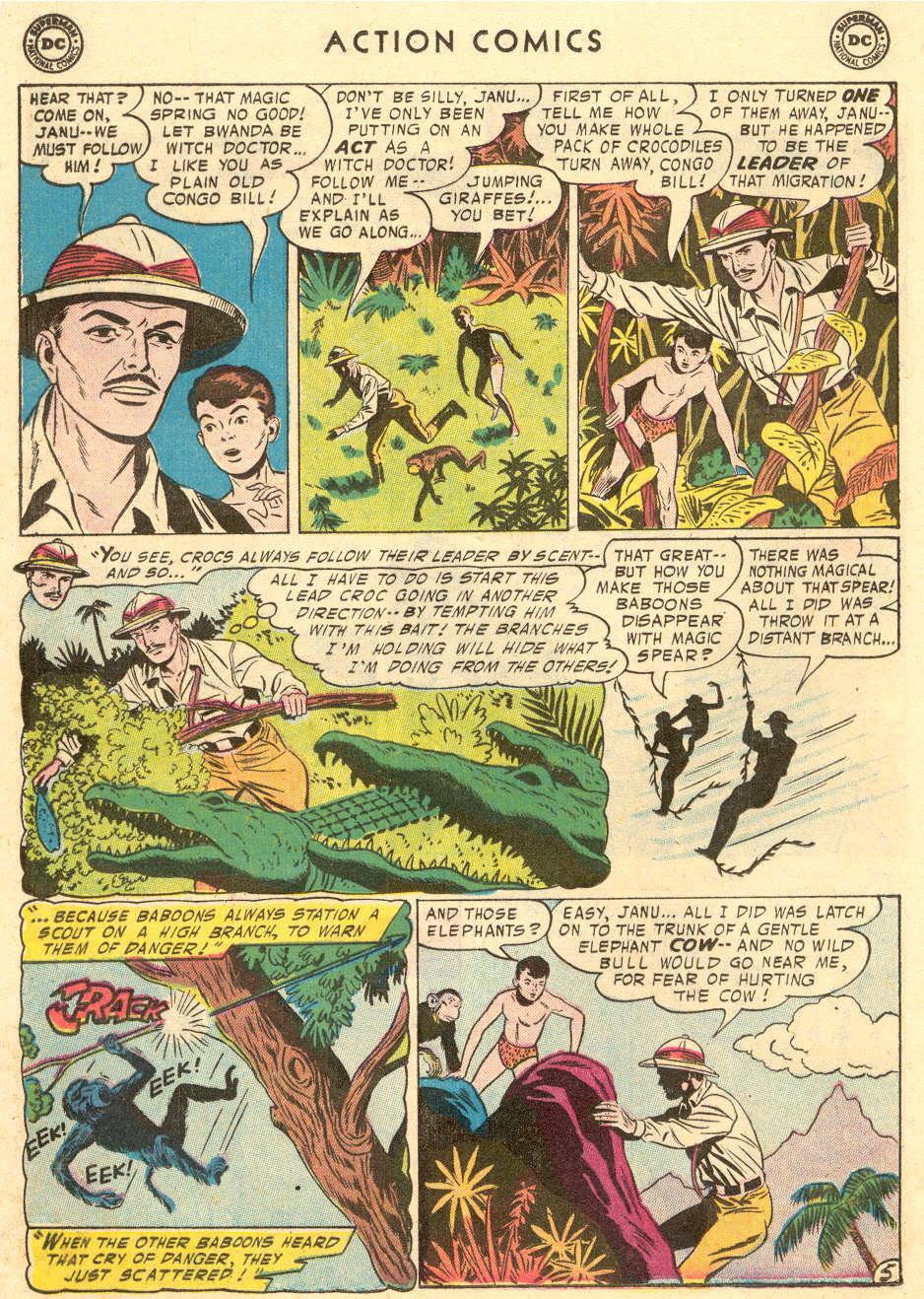 Action Comics (1938) 221 Page 19