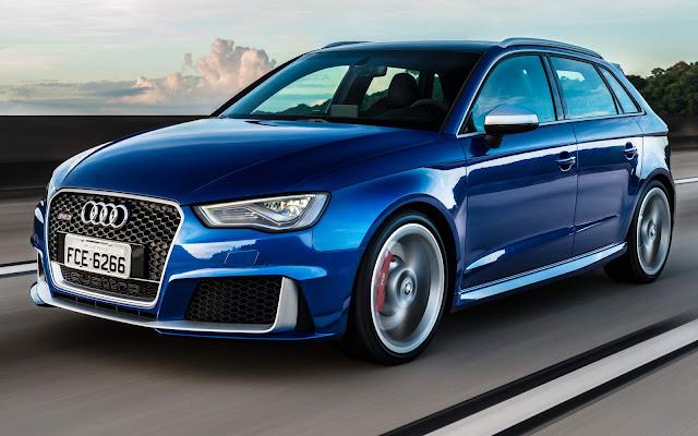 Novo Audi RS3 2017