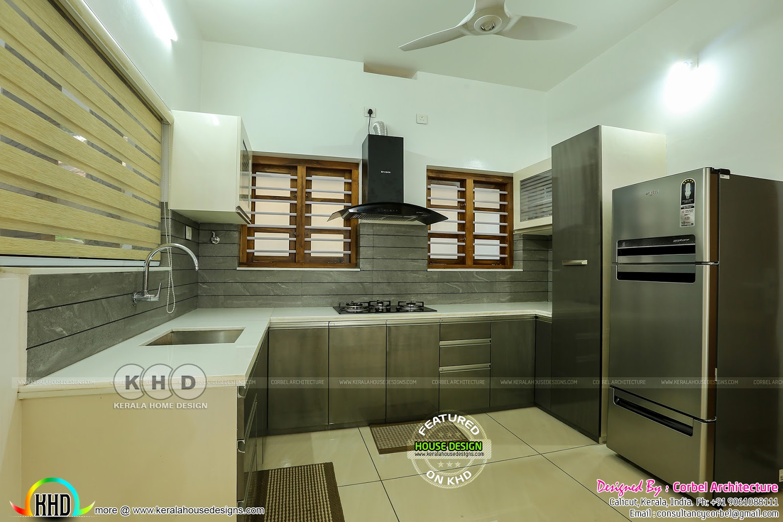 Interior And Exterior Photos Of Finished House In Kerala