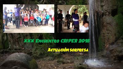 ACTUACIÓN SORPRESA XXX ENCUENTRO CRIPER 2018 CHARANGA THE PRADOS BAND