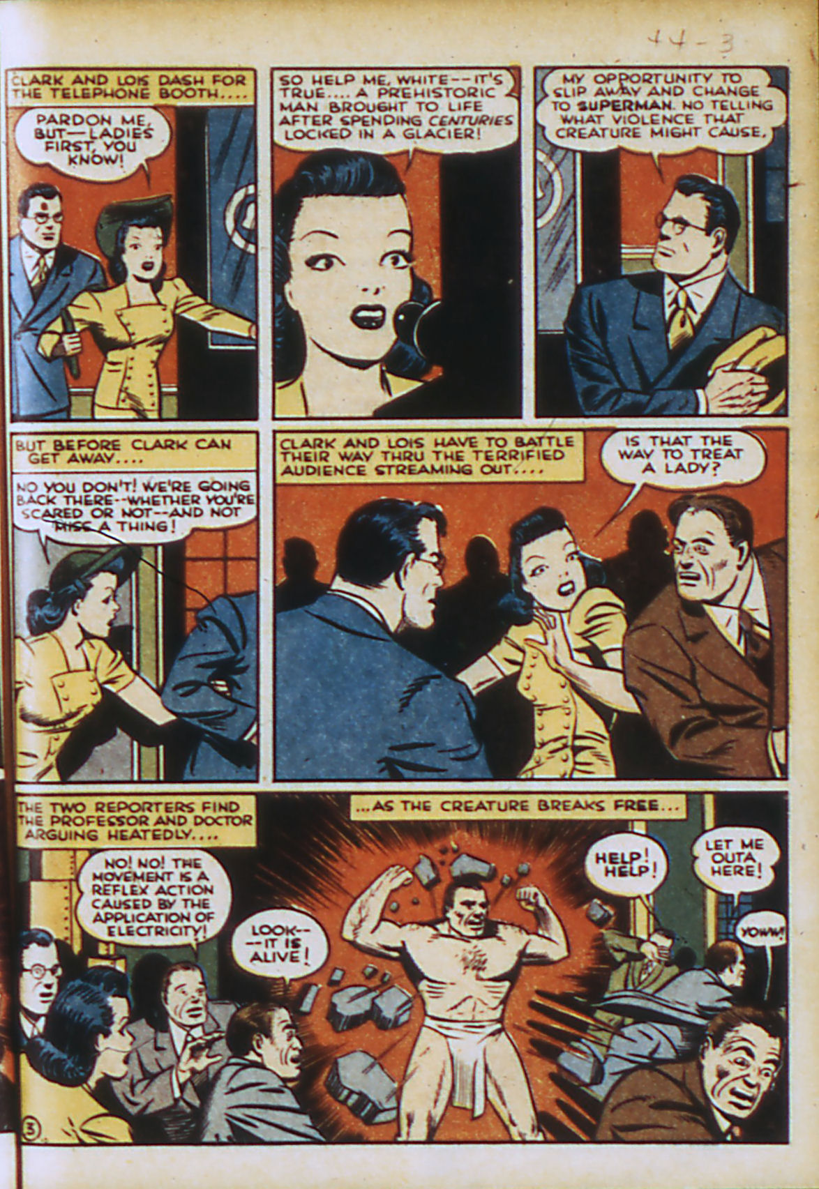 Read online Action Comics (1938) comic -  Issue #44 - 6