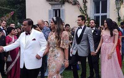 Isha Mukesh Ambani Wedding Engagement Worth In Cr