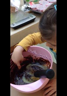 Muffins au chocolat et à la compote de pommes - sans beurre - Bataille Food #43