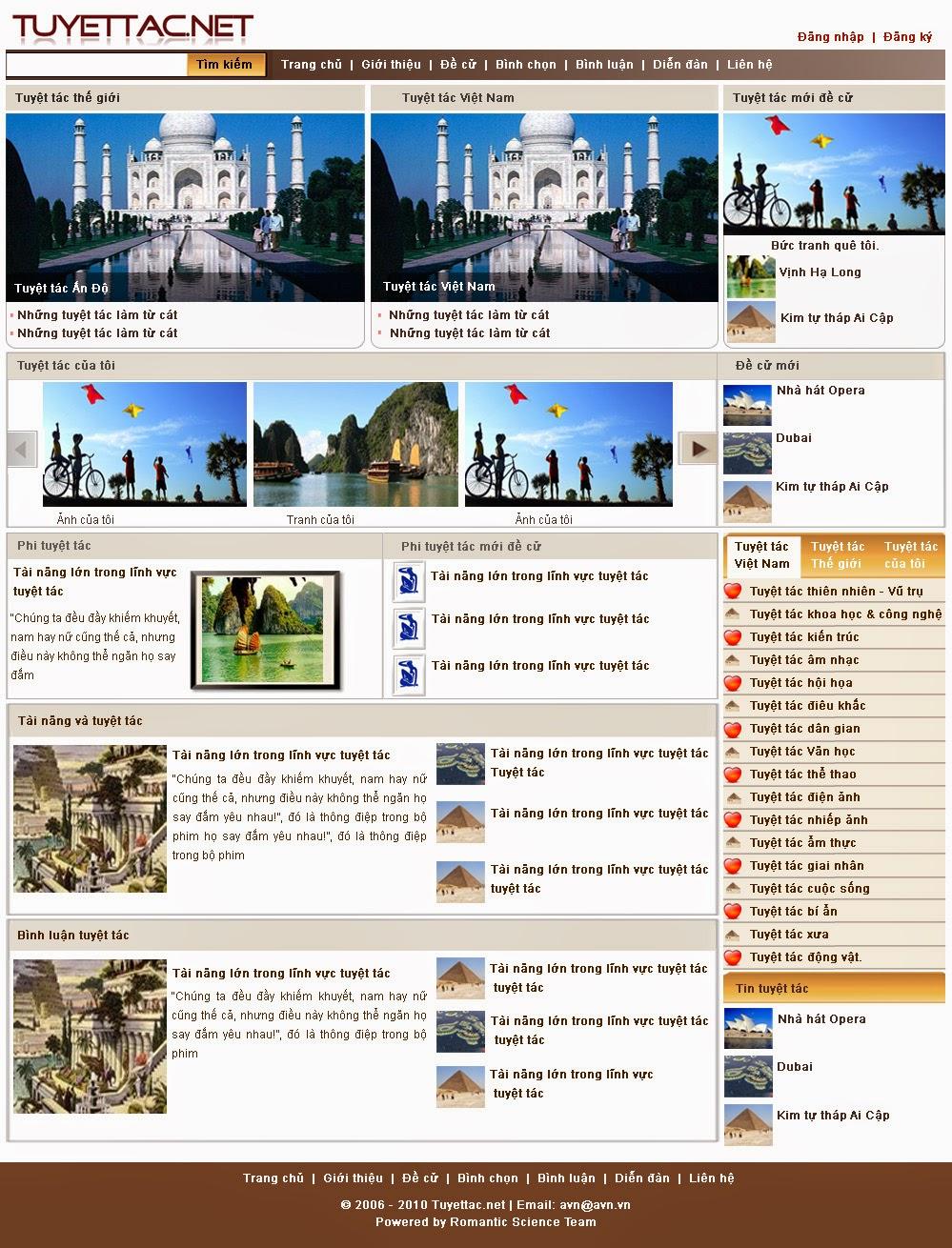 dịch vụ thiết kế website nhà đất
