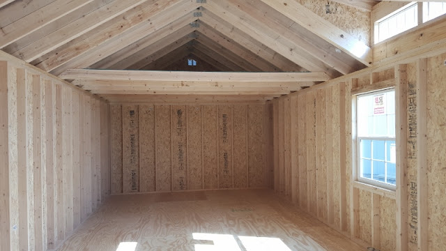 Wolfvalley Buildings Storage Shed Blog : Dormer Cabins-14x36 Cabin