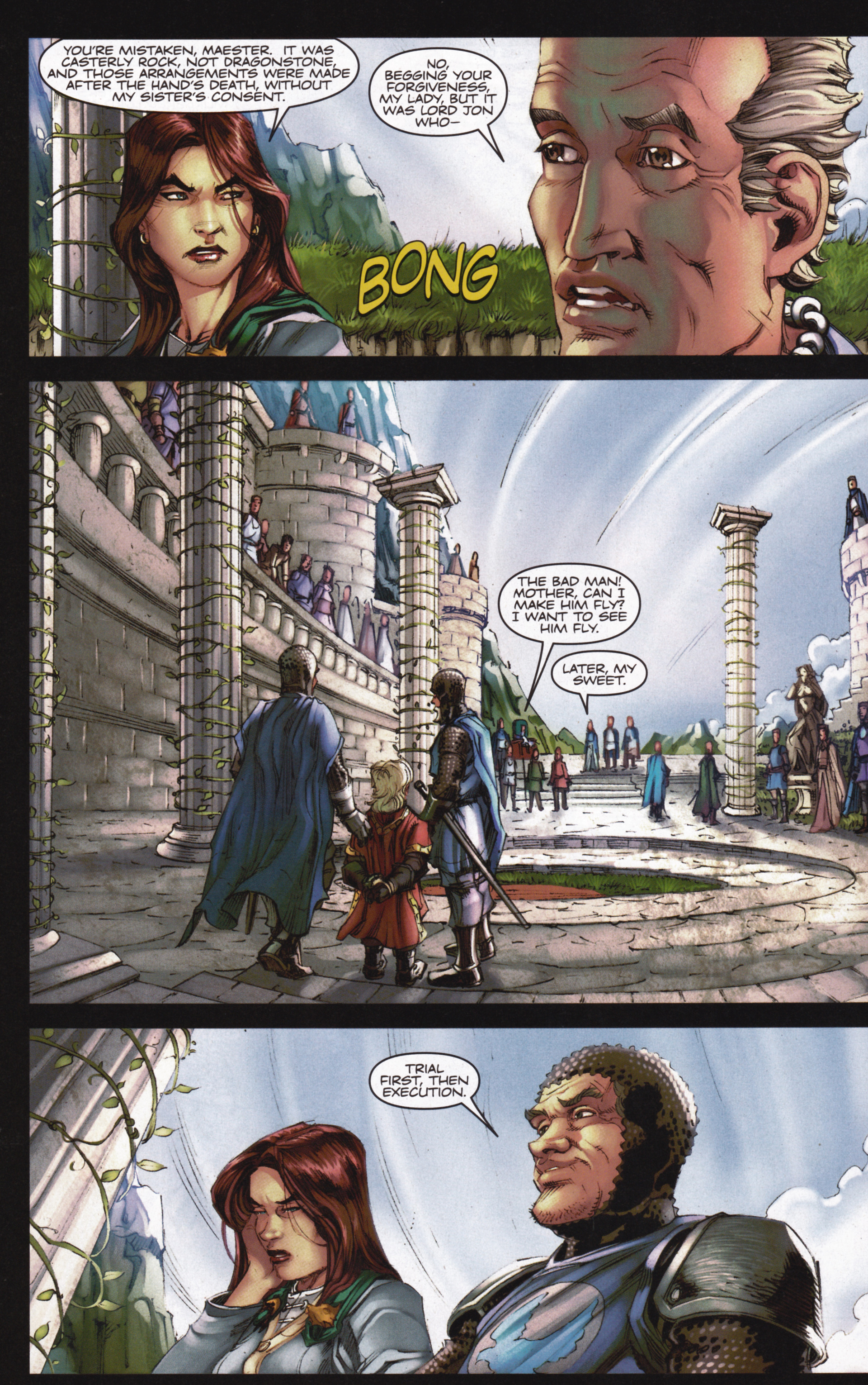 Read online A Game Of Thrones comic -  Issue #13 - 24