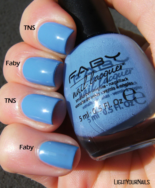 Comparison: TNS 469 Heartbeats vs Faby Let's Dance