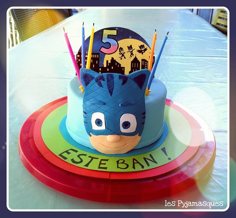 Gateau Pyjamasques Creations Cake Design Par Olivia Resch