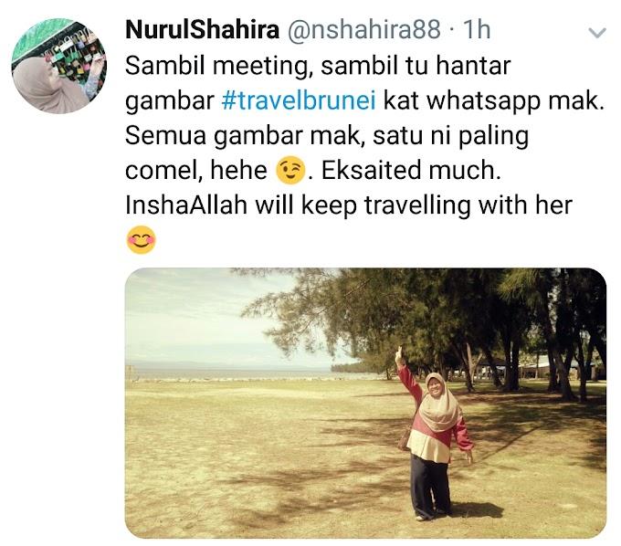 My mum is my travel buddy