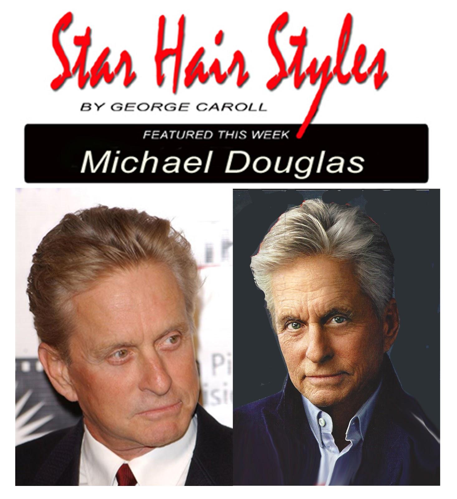 George Caroll / Hollywood Hair Stylist: Michael Douglas