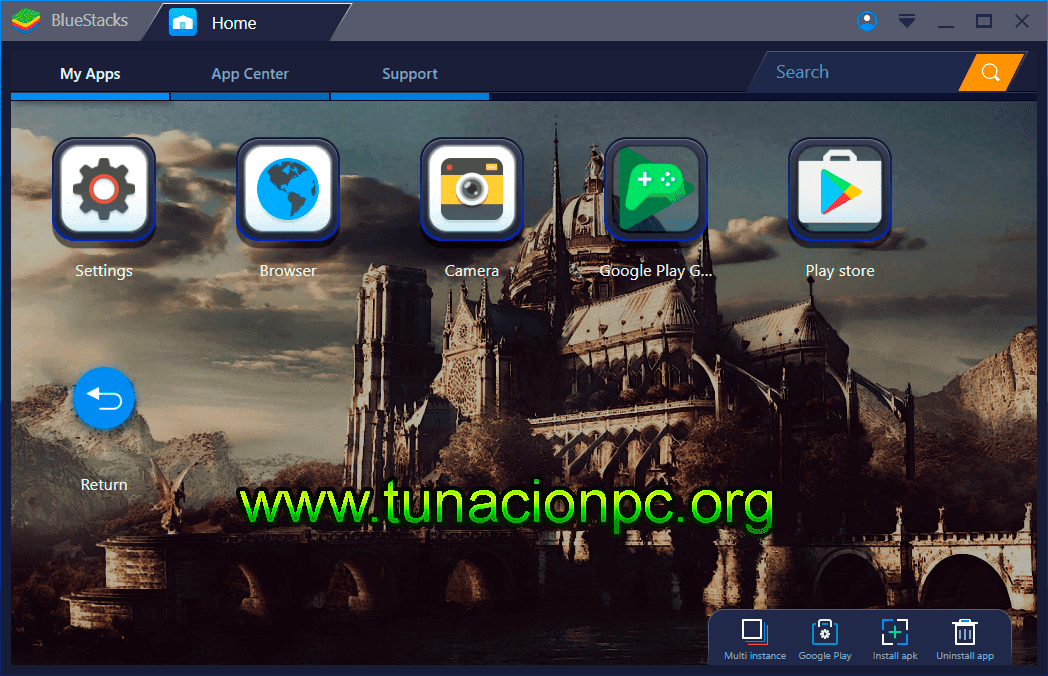 Bluestacks Beta Emulador Android