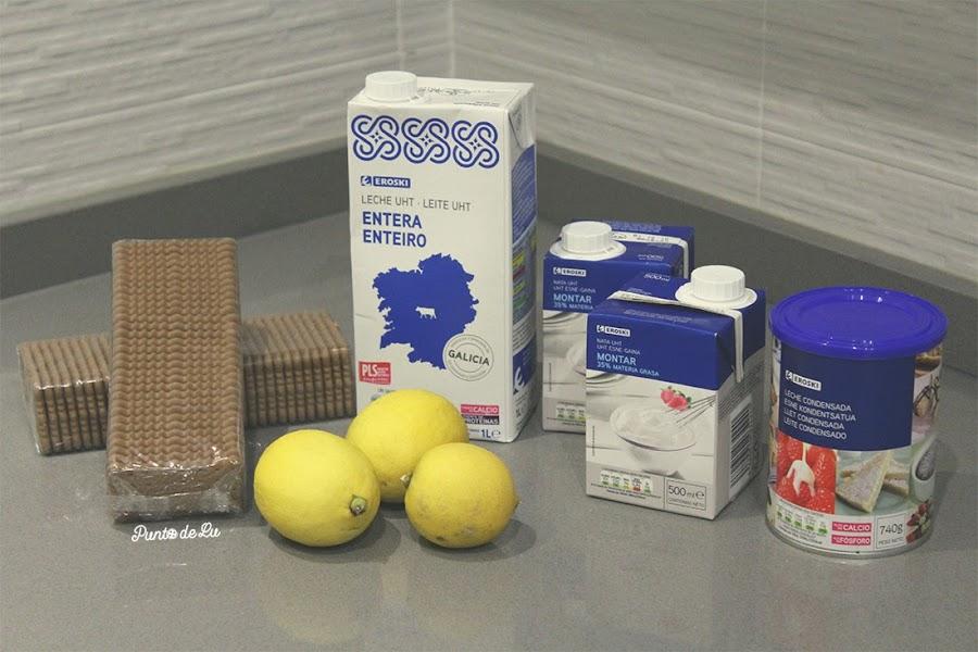 Tarta de limón fácil - Ingredientes