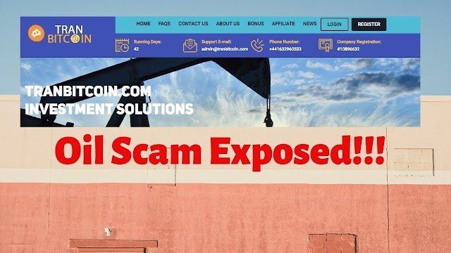 Tranbitcoin is a BIG SCAM! Don't Invest your money