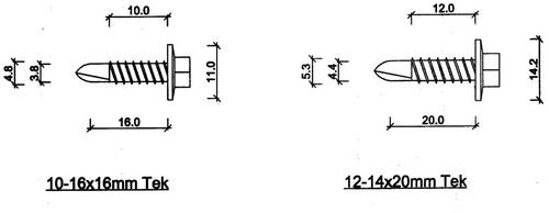 ukuran standar baut baja ringan proyek sipil bahan apa saja yang dipakai pada konstruksi