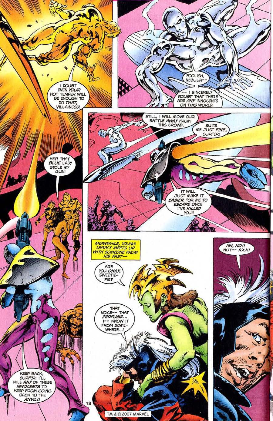 Read online Silver Surfer (1987) comic -  Issue #110 - 20