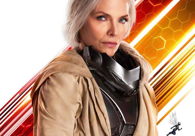 ant-man and the wasp character posters michelle pfeiffer
