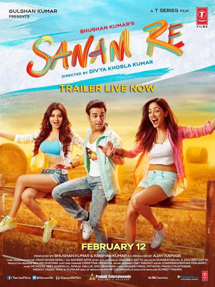 Watch Sanam Re (2016) DVDRip Hindi Full Movie Watch Online Free Download