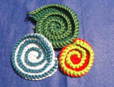 tutorial: spirali ad uncinetto