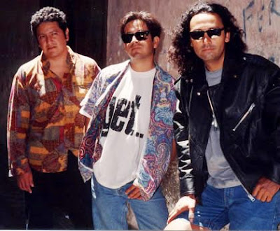 Foto del grupo Río posando parados