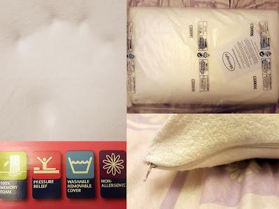 Silentnight Pillow Review Memory Foam