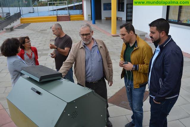 El Consorcio de Servicios de La Palma sigue impulsando el compostaje en los centros escolares de la isla
