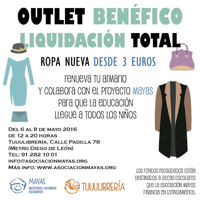 Outlet benéfico Proyecto Mayas
