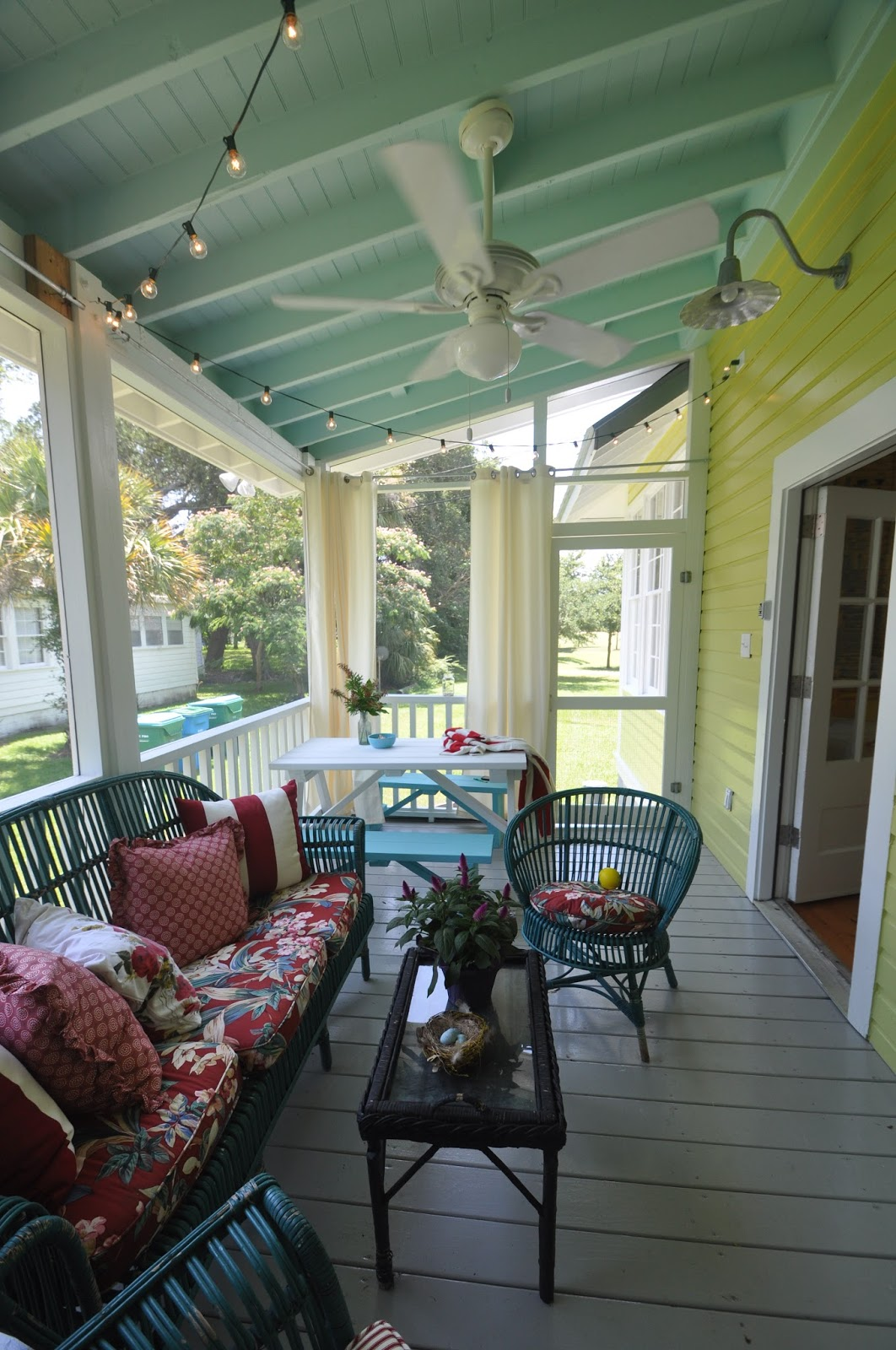 Jane Coslick Cottages My Favorite Bedroom And More: Jane Coslick Cottages : New Beds..New Porch... New