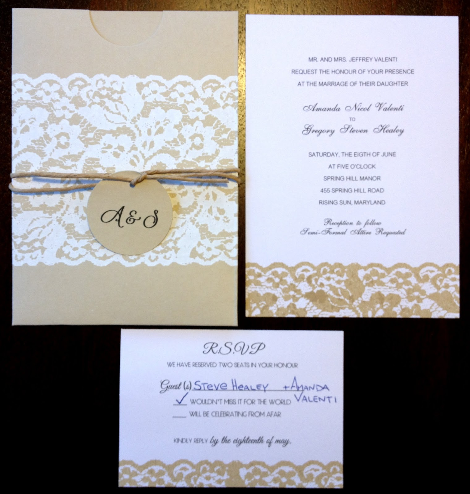 Cheap Country Wedding Invitations: Perfectly Beautiful Things: Wedding Planning