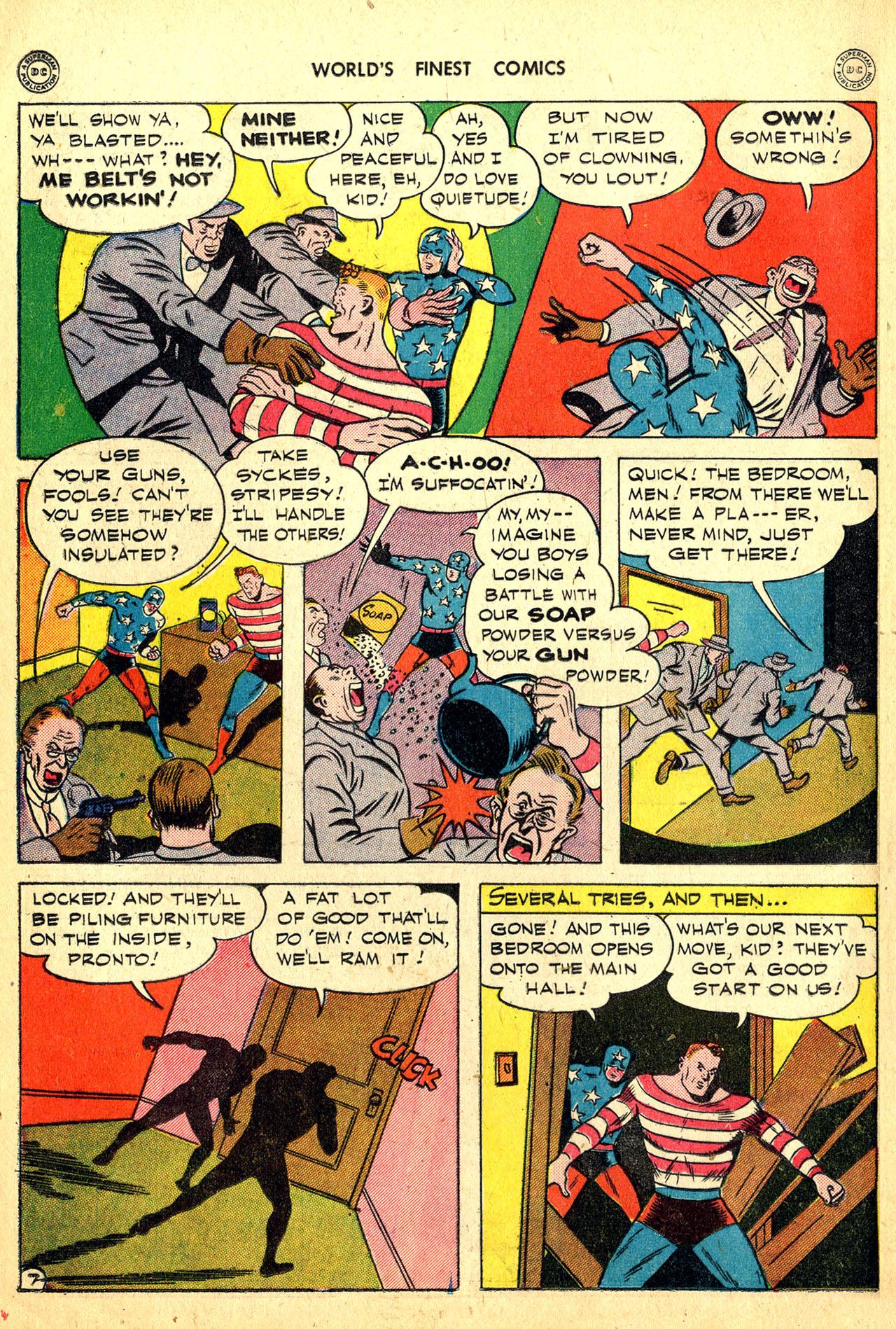 Read online World's Finest Comics comic -  Issue #18 - 22