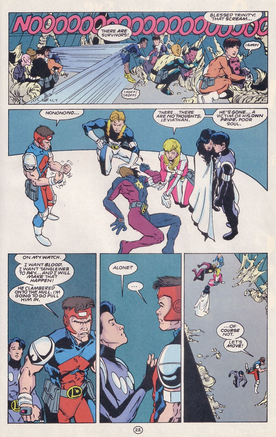 Legion of Super-Heroes (1989) 62 Page 22