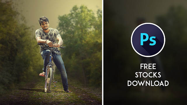 2pp Cyclists - Photoshop Manipulation Tutorial Processing Tutorial