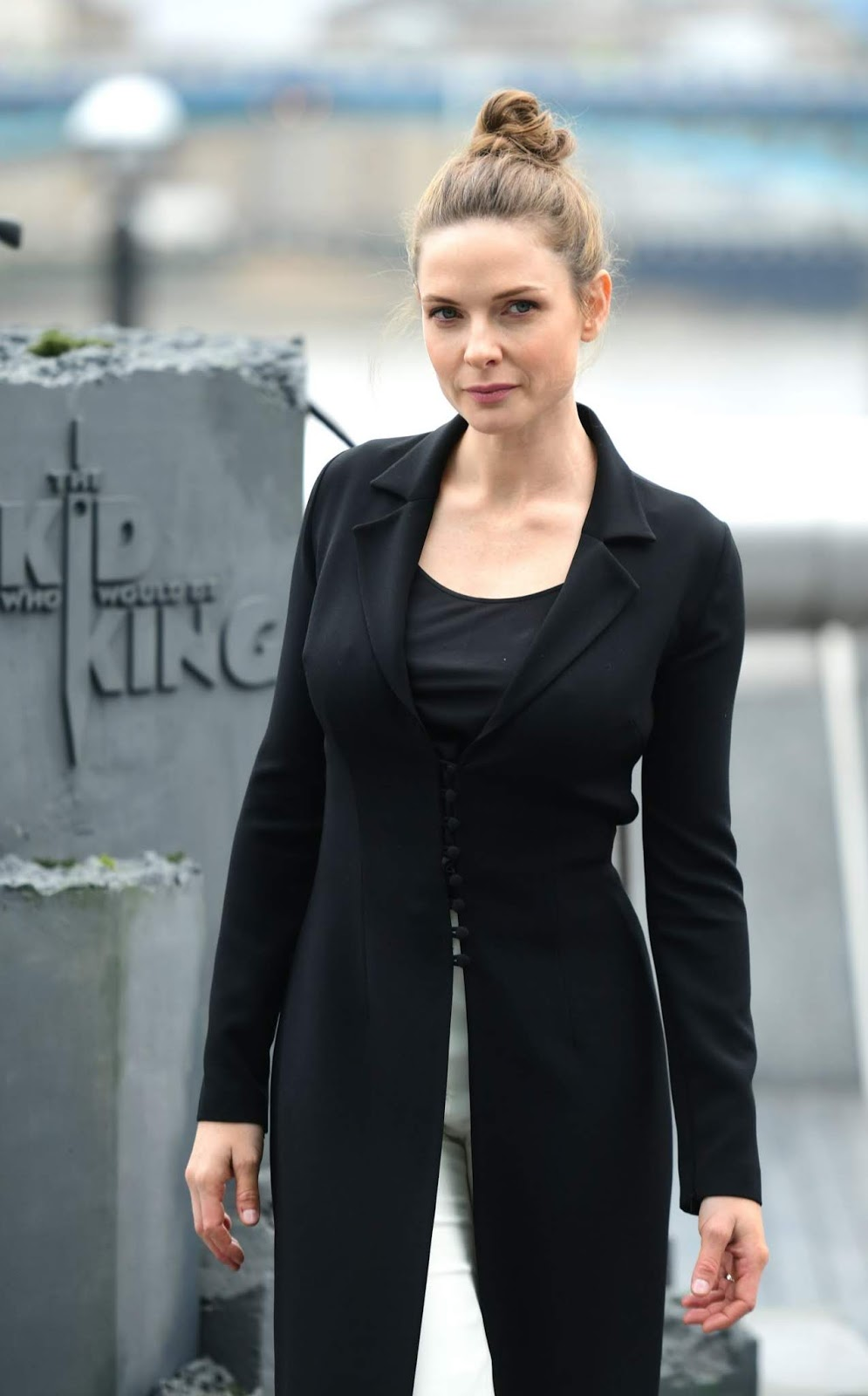 "Rebecca Ferguson - ""The Kid Who Would Be King"" Photocall in London - 02/05/2019"