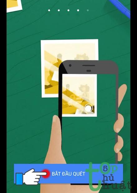 Thủ thuật scan ảnh cũ bằng điện thoại