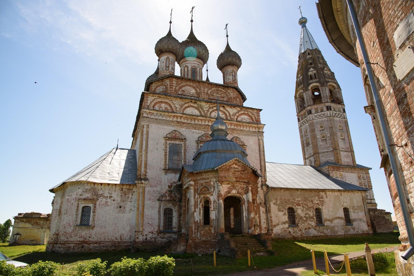Церковь Усекновения главы Иоанна Предтечи. Парское