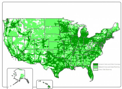 Chit Chat Mobile MVNO Coverage Map