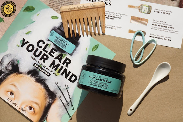 The Body Shop Fuji Green Tea Cleansing Hair Scrub Review