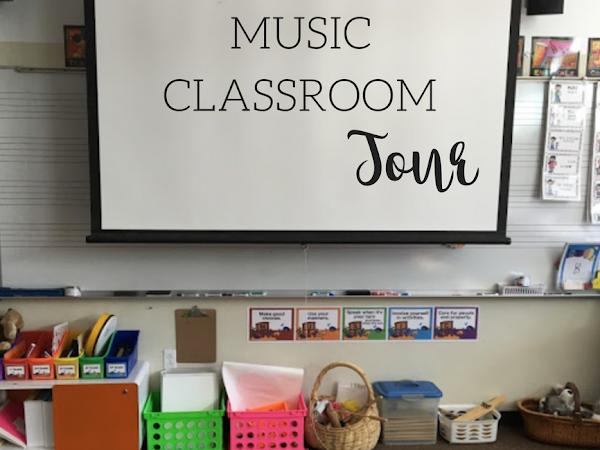 Music Classroom Tour 2016