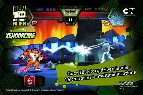 game ben 10 xenodrome khusus android gratis