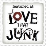 Featured at I Love That Junk button 150 pixels