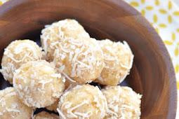Aloha Energy Bites – Pineapple Coconut Protein Balls