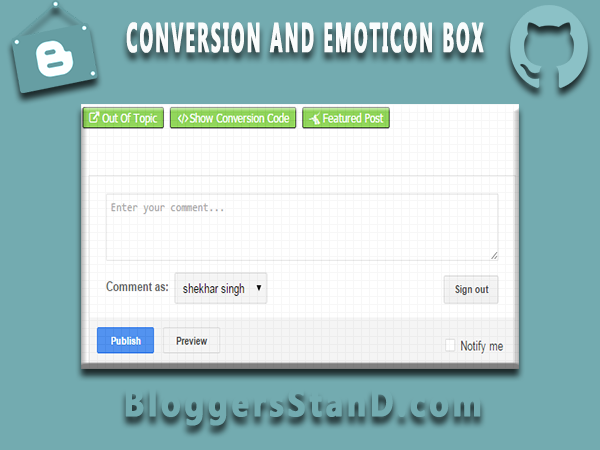 How To Add Conversion And Emotions+smileys+ for blogger Threaded Comment