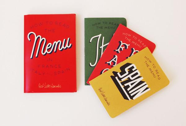 Herb Lester menu cards