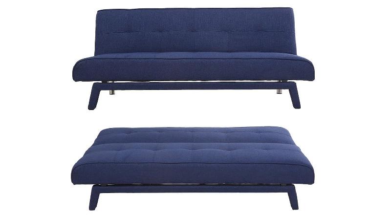 divano convertibile 3posti modello BUCK blu