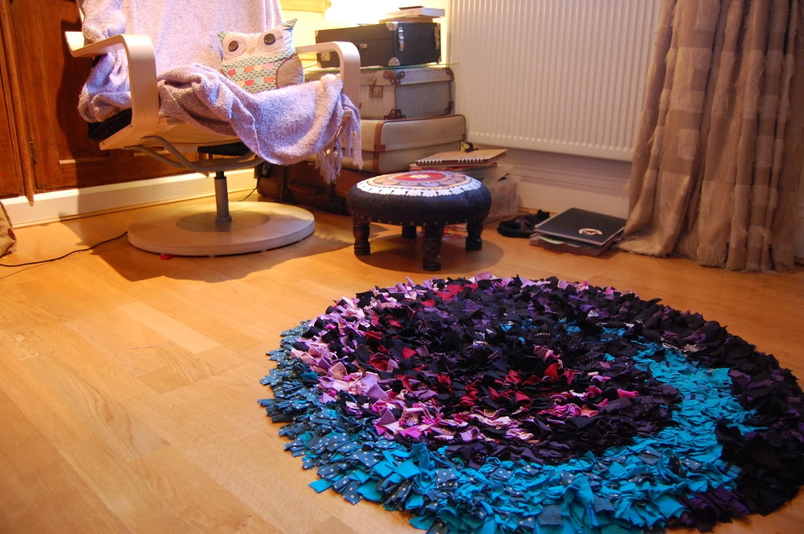 How To Make A Rag Rug Do And Mend