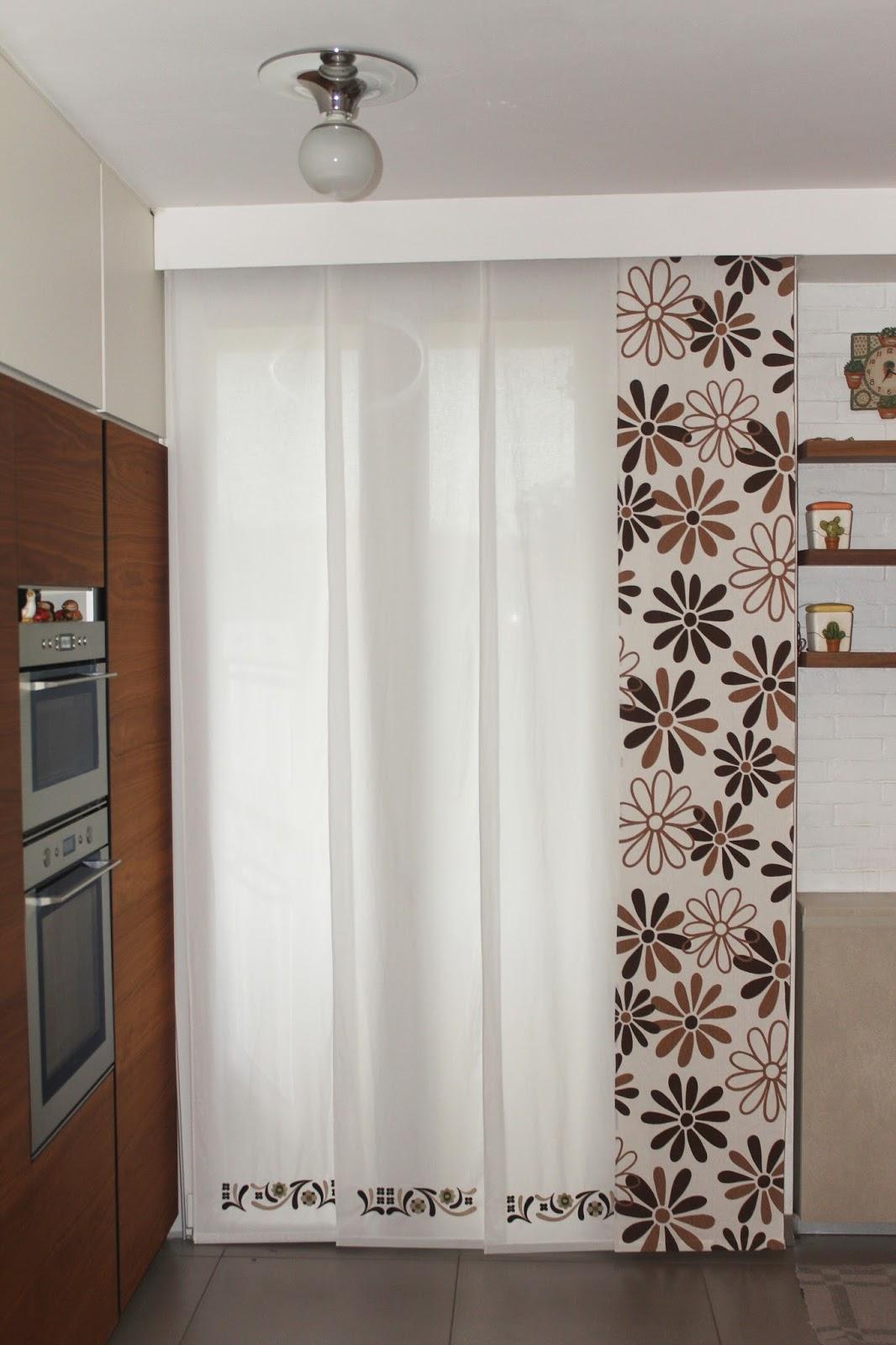 Binari tende a pannello in alluminio decorativi. Scuola Di Cucito Ispirazione Tende A Pannello Per Un Ambiente Moderno