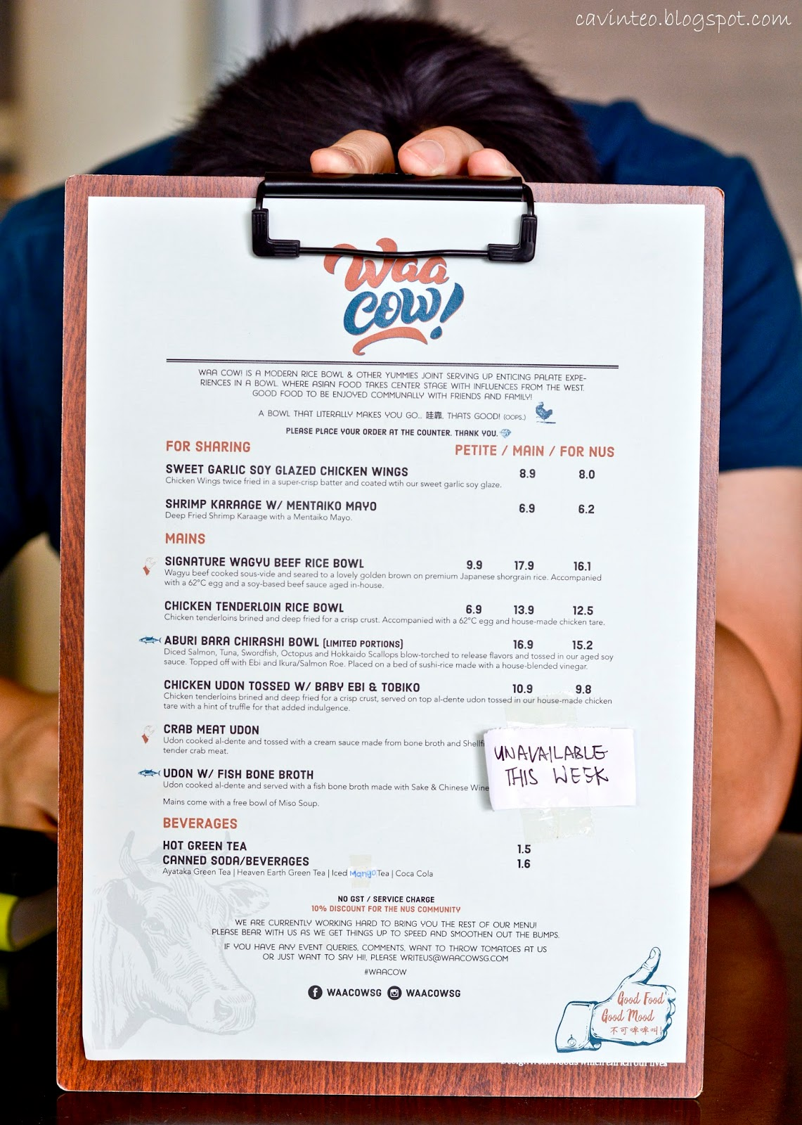 Entree Kibbles: Waa Cow! - Signature Wagyu Beef Rice Bowl