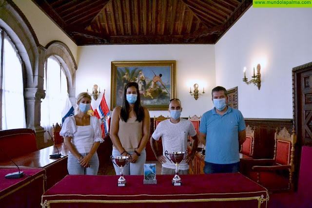El Ayuntamiento de Santa Cruz de La Palma felicita a Jonay Leal por el subcampeonato regional de pesca submarina con un medregal de 49 kilos